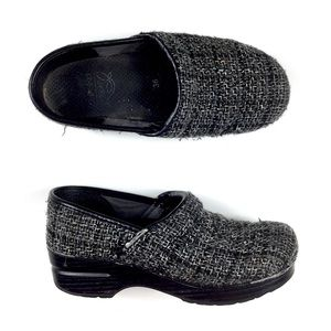 Dansko Vegan Tweed Clogs